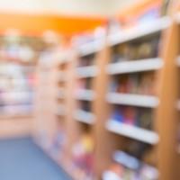 Store, interior, book.